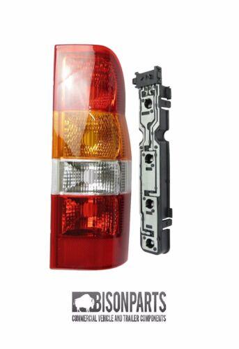 * Ford Transit Posteriore Lampada Luce Posteriore e Supporto Lato Driver MK6 2000-2006 TRA003KIT