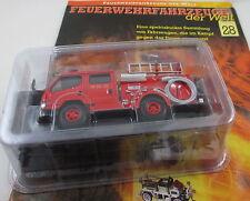 Del Prado-bomberos vehículos 28-Morita MSR-I Super rap. 1998 jap1:40 nuevo/en el embalaje original