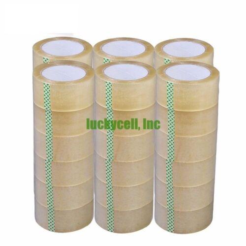"24 Rolls-3/""x110 Yards 330/' ft –Box Carton Sealing Packing Shipping Clear Tape"