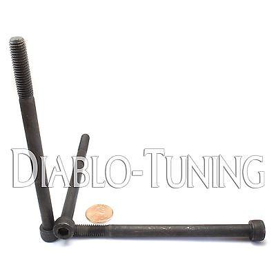 M8 - 1.25 x 120mm - Qty 5 - SOCKET HEAD CAP Screws 12.9 Alloy Steel Black Ox M8