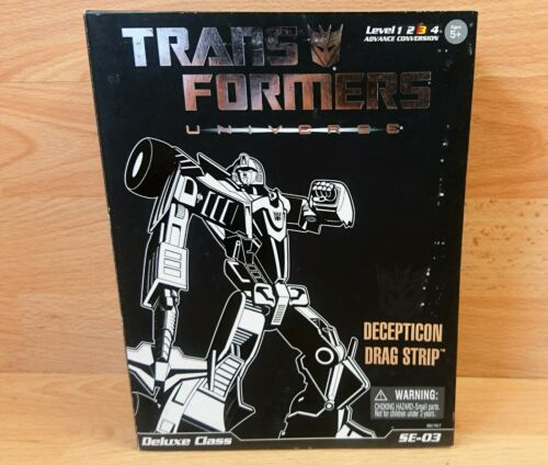 Transformers Collectors Club Deluxe Class SE03 Decepticon Drag Strip
