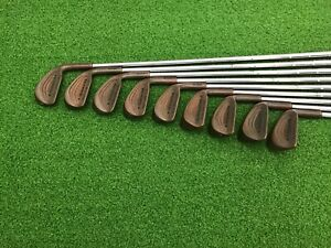 RARE-Triumph-Golf-THE-MASTERS-IV-Beryllium-Copper-BeCu-Iron-Set-3-PW-SW-Right-RH