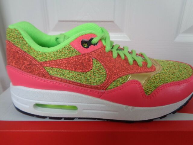 Womens NIKE AIR MAX 1 SE Pink Trainers 881101 600 | eBay