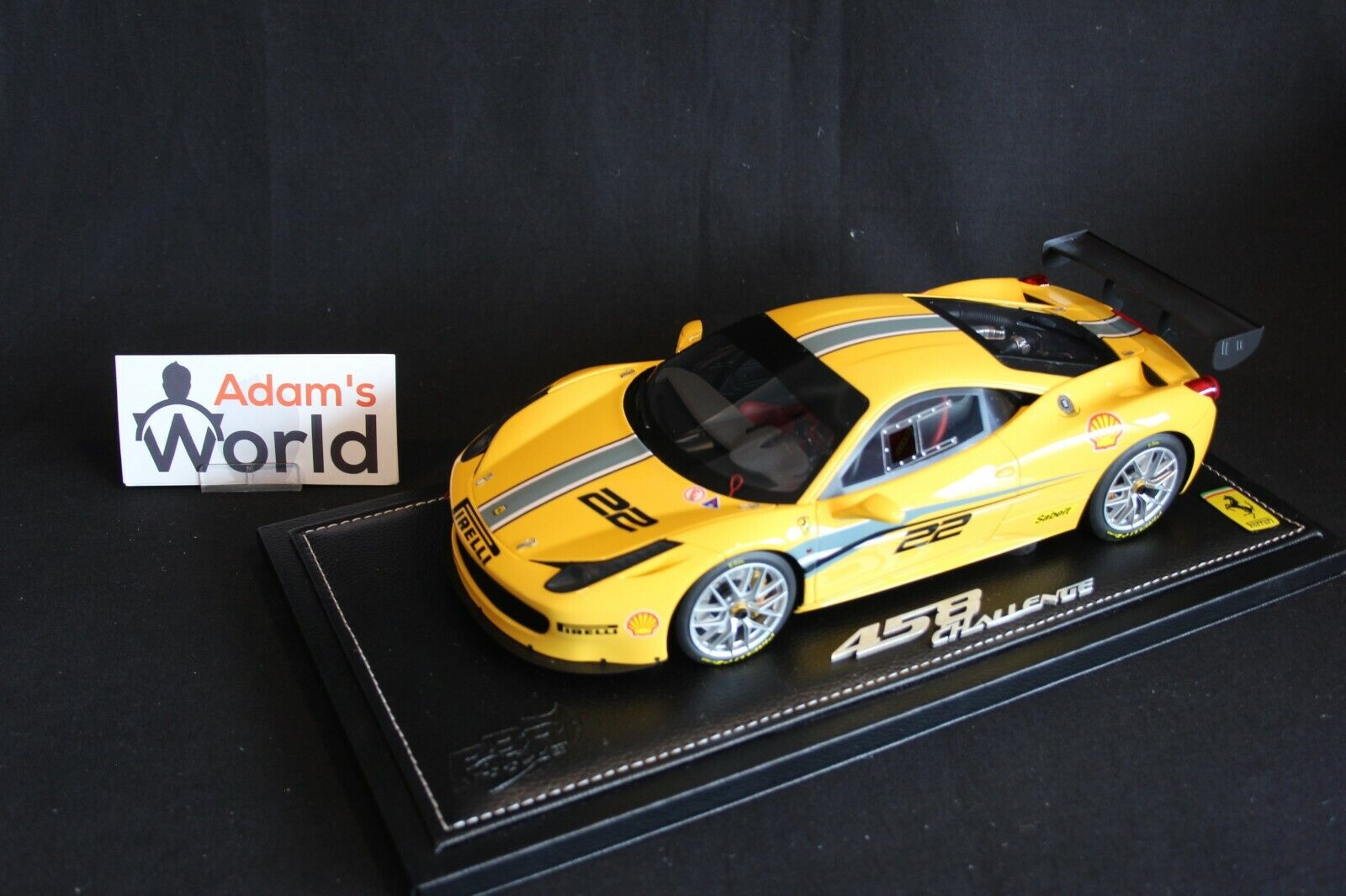 BBR Ferrari 458 Challenge Evoluzione 2013 1 18 yellow Modena (PJBB)