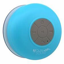 Aduro AquaSound Wsp10 Waterproof Shower Bluetooth Portable Speaker (blue)