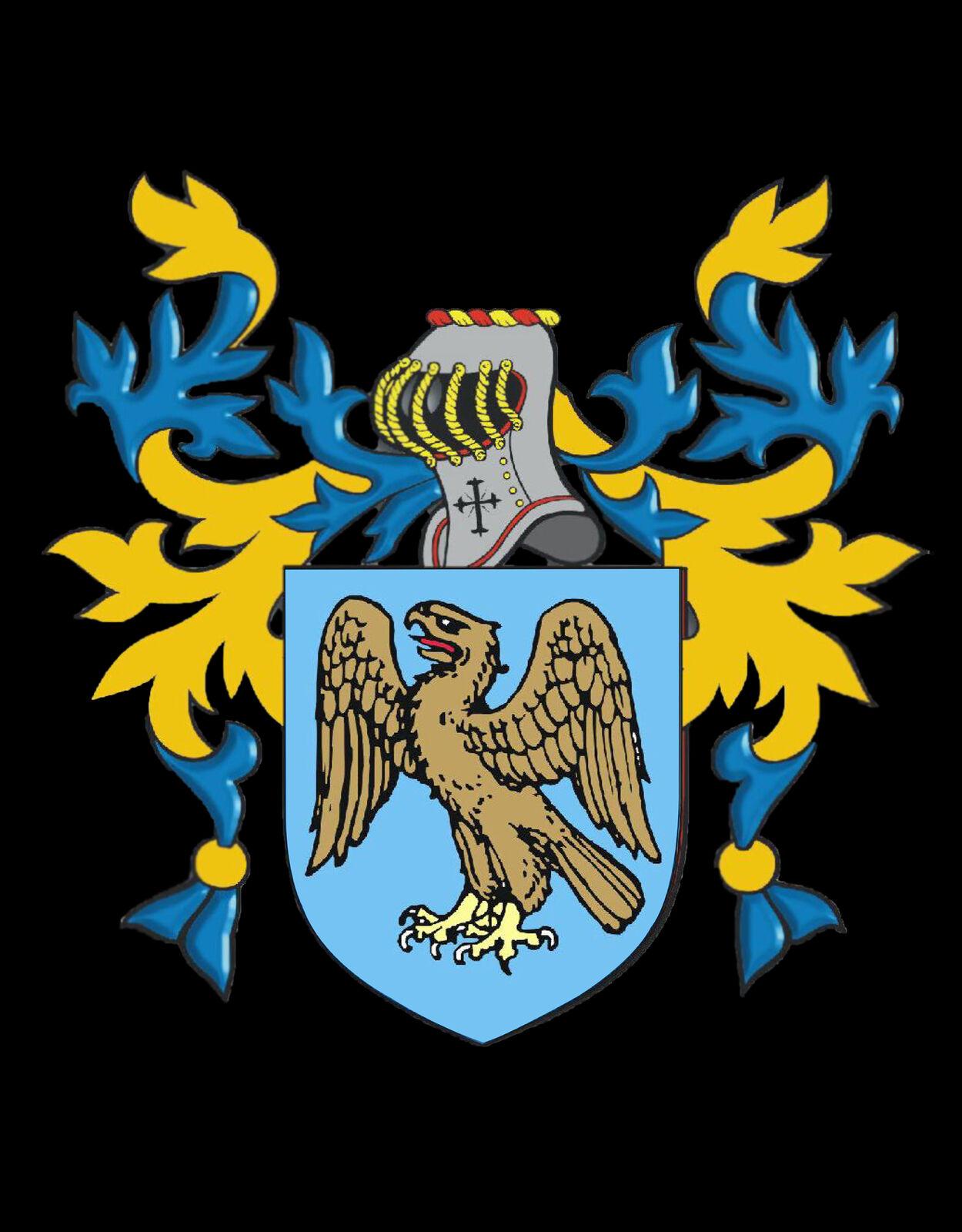 Ibbotson Inghilterra STEMMA DI DI DI FAMIGLIA cognome STEMMA Gemelli custodia personalizzata 81bac1