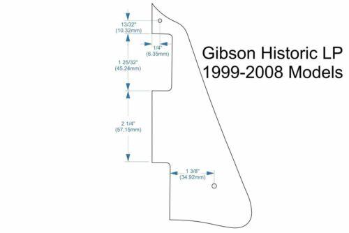 Cream #2 Pickguard for USA Gibson Les Paul® Historic 1999-2008