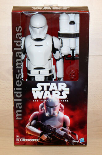 Star Wars flametrooper Deluxe personaje Hasbro b3916 nuevo//en el embalaje original figura de acción