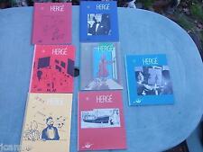 Tintin - Hergé - Revue Hergé 1 à 7 - EO (2006/2011) ETAT NEUF