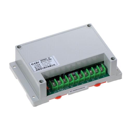 HHD6-G 1200W Input AC220V 8A Max Output DC 0-220V Motor Speed Controller 50Hz