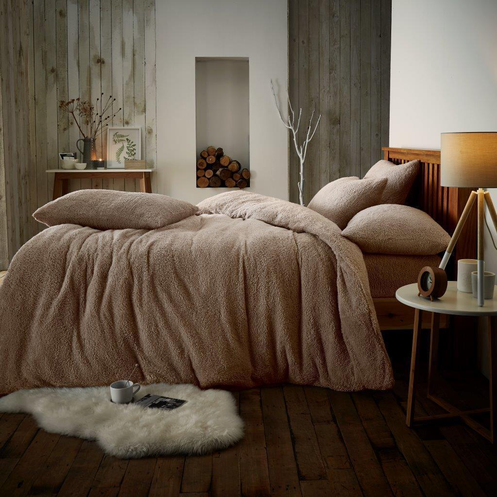 Teddy copripiumino in pile di lusso copripiumino Teddy Set Super Morbido Caldo E Accogliente Set di biancheria da letto LOTTO dfd40b