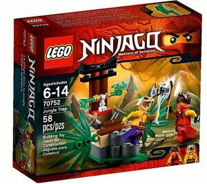 LEGO-Ninjago-70752-Jungle-Trap-Toy-Set-New-In-Box-Sealed-70752