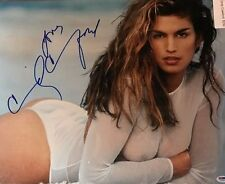 Cindy Crawford * Nipple * 16x20 Signed Photo PSA DNA Certified