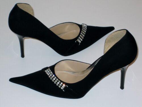 Élégant femmes Escarpins 39-noir strass neuf carodina style in Italy