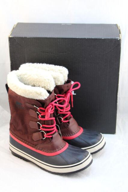 8ef6f67dc0d NIB SOREL Winter Carnival Size 7 M Redwood Women's Winter Boot RETAIL $130