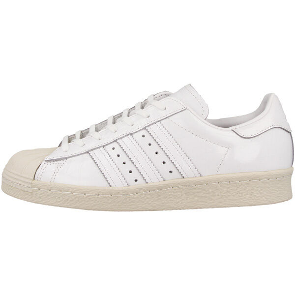 Adidas Superstar 80s Women zapatos retro cortos White bb2056 samba Flux angeles