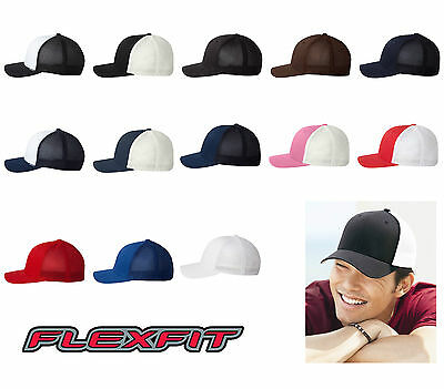 Flexfit Mesh Trucker Cap - 6511