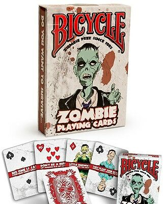 Bicycle Zombie Playing Cards Deck - Great Halloween Party Game!