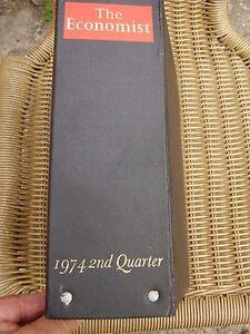 THE-ECONOMIST-BOUND-VOLUME-1974-2ND-QUARTER-BINDER-amp-12-ISSUES-FREE-UK-POST