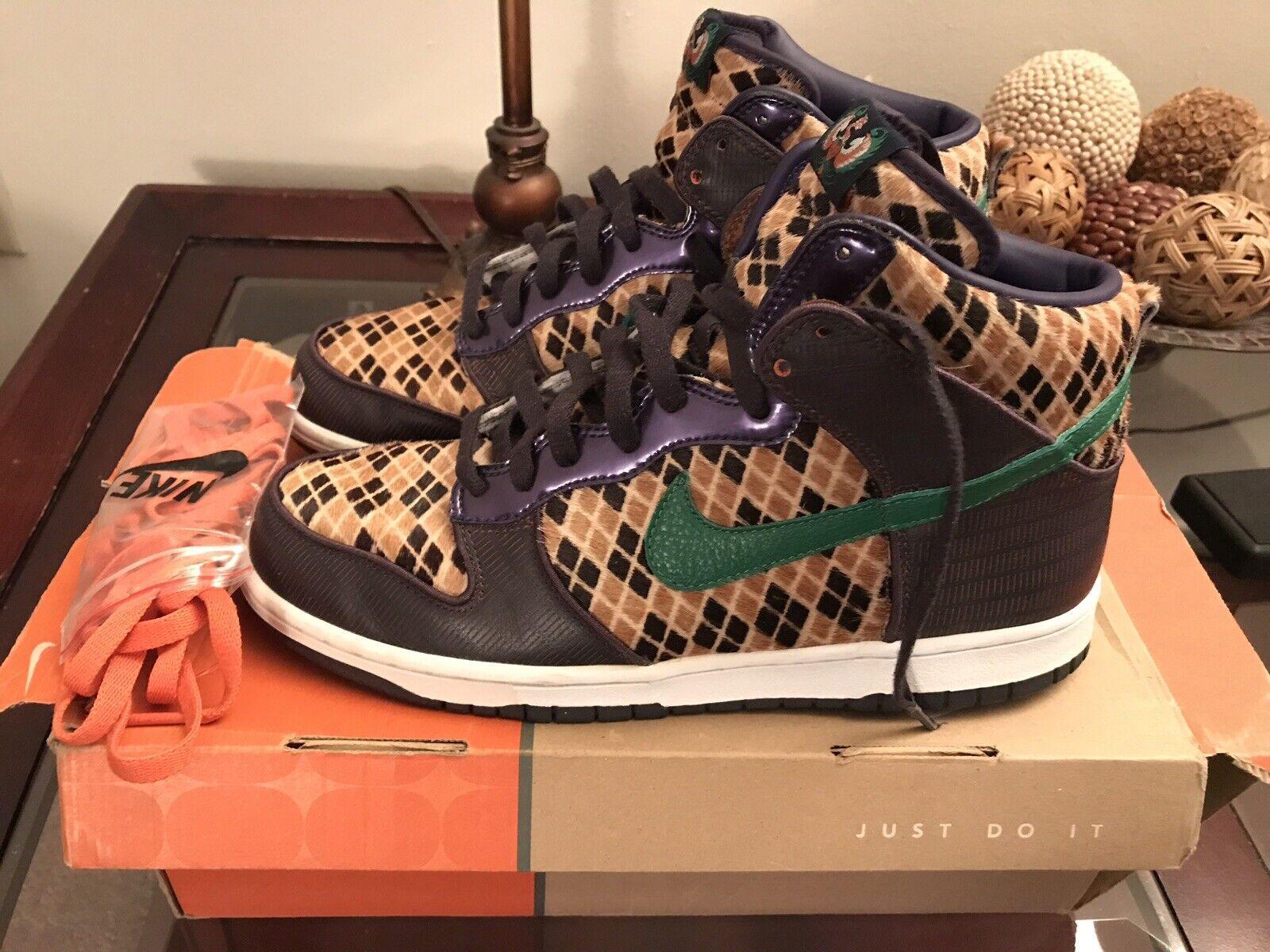 """0a7e46f9d28bae Nike Dunk High Premium Size 11 """"Samurai """"Samurai """"Samurai Pack"""" PRE OWNED  5f2d42"""