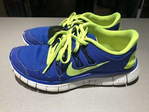 9e6c19a72672 NIKE FREE 5.0+ Mens Athletic Running Shoes 579959-470 SIZE 8