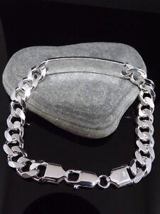 5 Bracelet 5 lourd Gents 925 Chunky 8 Sterling Silver Heavy Bracelet 925 Sterling 8 Silver Gents Id Chunky Id 1f8wUq6x
