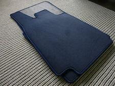 $$$ Original Lengenfelder Fußmatten passend für BMW 3er E21 + BLAU + NEU $$$