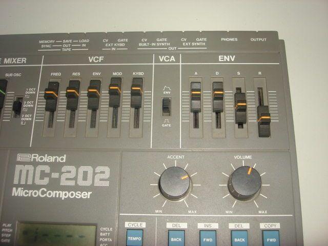 Roland Roland Roland mc 202 mc202 mc-202 vintage secuenciador analógico sintetizador  tienda de pescado para la venta