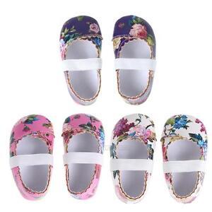 Newborn-Baby-Kids-Girls-Floral-Shoes-Soft-Sole-Crib-Shoes-Prewalker-Shoes-0-18M