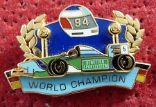 PIN'S F1 FORMULA ONE BENETTON MILD SEVEN WORLD CHAMPION 1994 ZAMAC 2D