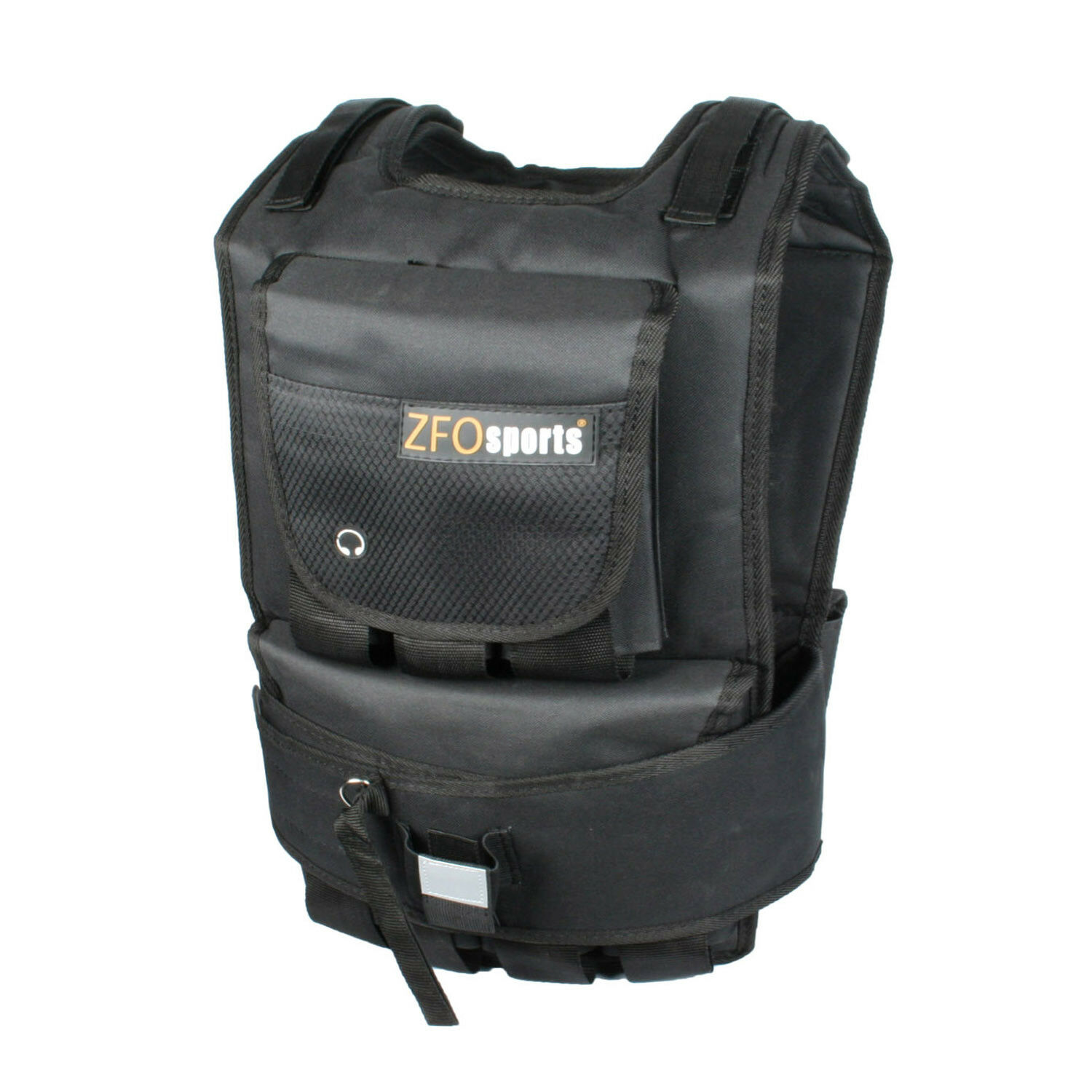 ZFO  Sports  - 60LBS Adjustable Exercise Fitness Weighted Vest  discount sale