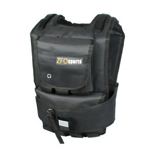 ZFOsports 50lbs SHORT Adjustable Weighted Vest