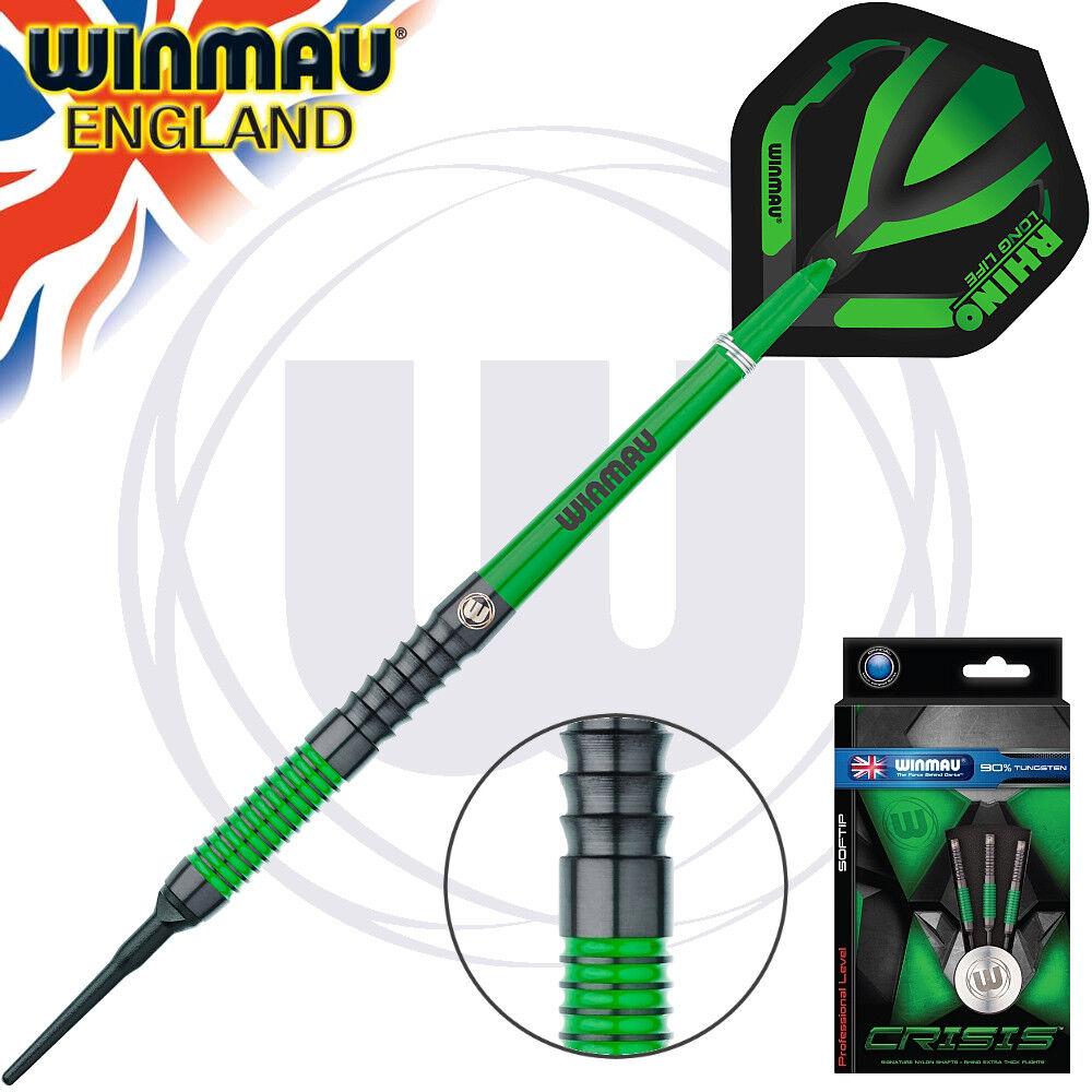 WINMAU Soft Darts Edarts Dartpfeile Pfeile Dart Crisis Grün 18 gr 2048 NEU  | Neue Produkte im Jahr 2019