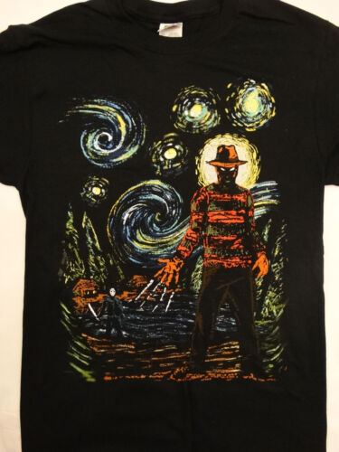 Freddy Krueger and Jason Voorhees Abstract T-Shirt