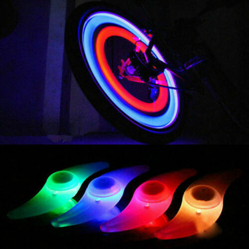 Safe Waterproof Bike Tyre Wheel Lamp Bicycle Cycling Spoke Wire Tire LED Light