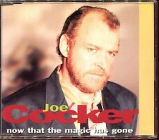 JOE COCKER - NOW THAT THE MAGIC .. / YOU CAN LEAVE YOUR (REMIX) - CD MAXI [319]