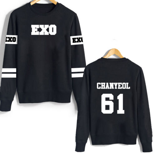 KPOP EXO Sweater Chanyeol pullover Unisex Sweatershirt Sehun XIUMIN CHEN FZW3050