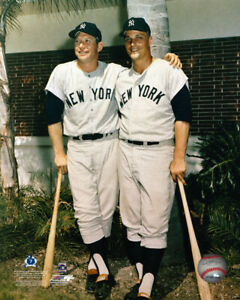 Roger Marris & Mickey Mantle New York Yankees 8 X 10 Photo AACC021 zzz