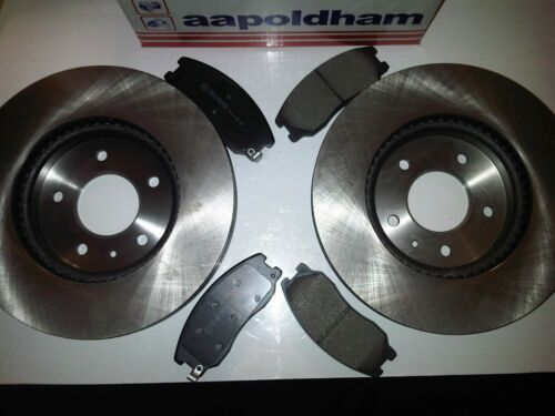 Vauxhall Antara 2.0 2.2 2.4 3.2 2006-2015 Neuf Disques De Frein Avant /& disc Pads