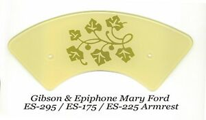 ES-295-034-Mary-Ford-034-Style-Armrest-for-Gibson-Vintage-Guitar-Project-W-Brackets