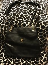 Wow!! PALOMA PICASSO Black Leather Vintage Bag