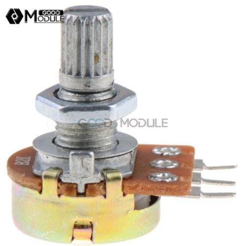 5Pcs 3 Pin WH148 Type B1K Ohm Linear Taper Rotary Potentiometer Panel Pot New