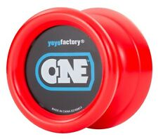 Red ONE Yo Yo From The YoYoFactory PLUS 3 FREE EXTRA NEON STRINGS YELL/ORG/GREEN