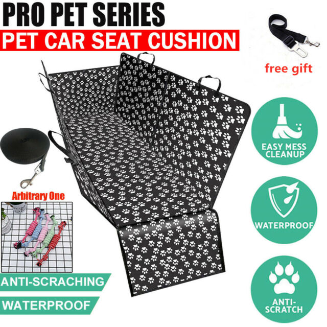 NonSlip Pet Cat Dog Back Car Seat Cover Hammock Premium Waterproof Protector Mat