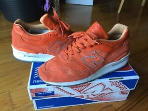 premium selection f69a1 a0d07 Details about New Balance 997 Concepts Luxury Goods Made In USA 9.5 Orange  White Grey Rose 998