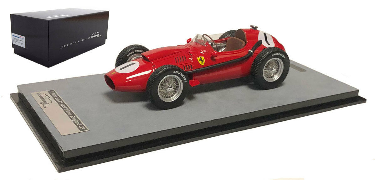 Tecnomodel Ferrari Dino 246 Winner British GP 1958 - Peter Collins 1 18 Scale