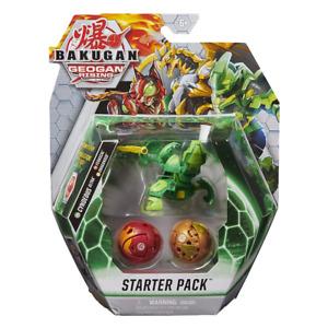 Bakugan Geogan Rising Starter Pack Cyndeous Ferascal & Dragonoid NEW