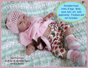 "20/"" Reborn Doll Parts Kit Rina"