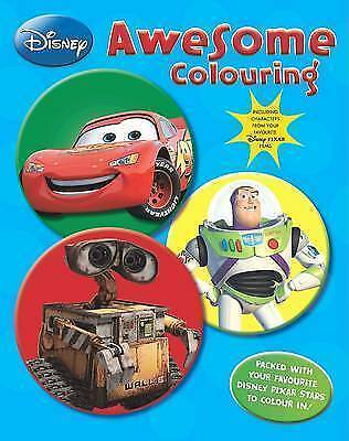 Disney Pixar: Awesome Colouring, , Very Good Book