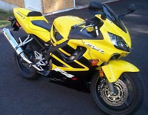 Yellow Black Complete Injection Fairing for 2001 2002 2003 HONDA CBR
